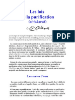 Les Lois de La Purification (at-Taharah) en Islam