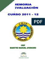 Memoria Curso 2011 - 12