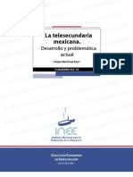58932421 La Telesecundaria Mexicana Desarrollo y Problematica Actual Felipe Martinez Rizo