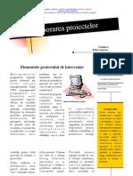T4 Elementele Proiectului de Interventie