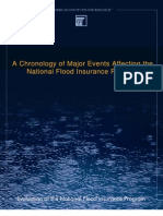 National Flood Insurance Chronology