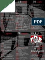 Brochure Programma Pomarance in Piazza 2012
