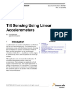 AN3461 - Tilt Sensing Using Linear Accelerometers