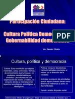Cultura Política Democrática