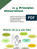 Valores y Principios Democraticos