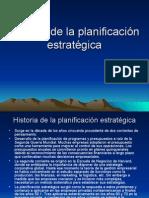 Historia de La Planificacion Estrategica