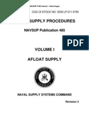 navsup p-485 volume iii
