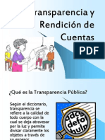 Transparecia y Rendición de Cuentas