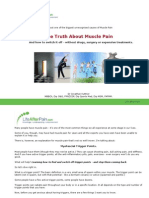 The Truth About Muscle Pain