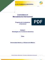 Unidad 3. Estrategias en El Comercio Electronico