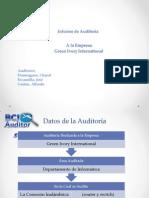 Informa Final Auditoria