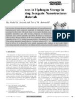 Recent Advances Inog. Nonostruct.