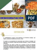 SECADO - DESHIDRATACION