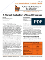 a market evaluation of salad dressings