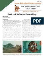 basics of softwood sawmilling