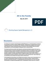 Family Dollar-Ackman Pres-Ira Sohn Conf-5!25!11