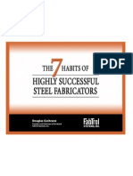 7 Habits of Highly Successful Steel Fabricators