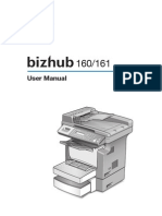 Bizhub 160-161 (Copier)