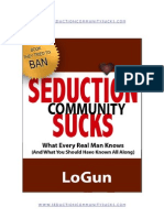 Seduction Community Sucks