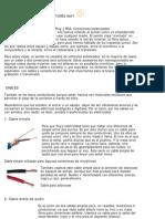 Conexiones y Armado de Cables Audio
