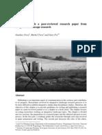 Academic Writing Format-IMRaD