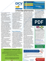 Pharmacy Daily for Mon 09 Jul 2012 - Five Star Pharmacists, Pfizer under fire, PSA slams warning and much more...