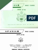 FSI Spanish Basic Course Volume 3 Student Text