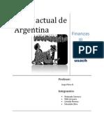 Crisis Actual de Argentina 2012