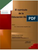 El currículo de la Educación Básica