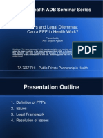 PPPs and Legal Dilemmas