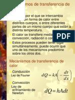 Mecanismos de Transferencia de Calorclase