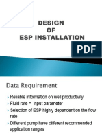 ESP Design Calculation