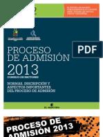 Normas Proceso Admision