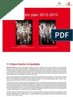 Dance Sector Plan 2012-13
