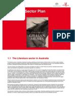 Literature Sector Plan 2012-14