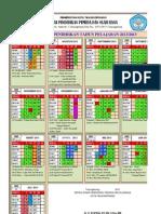 KALENDER PENDIDIKAN KOTA TANJUNGPINANG TP.2012-2013