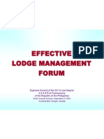 Effective Lodge Management.edited for Srt Semi Annual Final