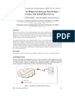 Security In Wireless Sensor Networks - Improving The LEAP Protocol