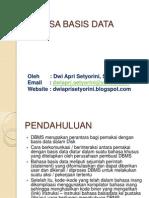 p3-Bahasa Basis Data