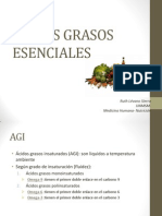 acidos grasos esenciales