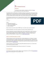 Settlement Machanism for Derivatives