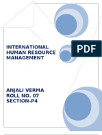 International Human Resource Managemen1