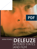Anna Powell - DeLEUZE Altered States and Film