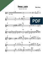Bossallegro - Pepper Adams Solo Transcription