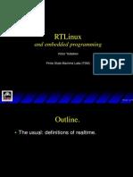 Presentation RT Linux