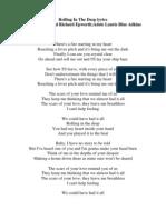 Rolling in the Deep Lyrics