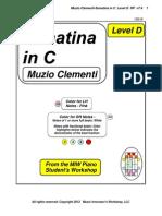 RP - Clementi-Sonatina in C  Level D Vx7.4 1308-08