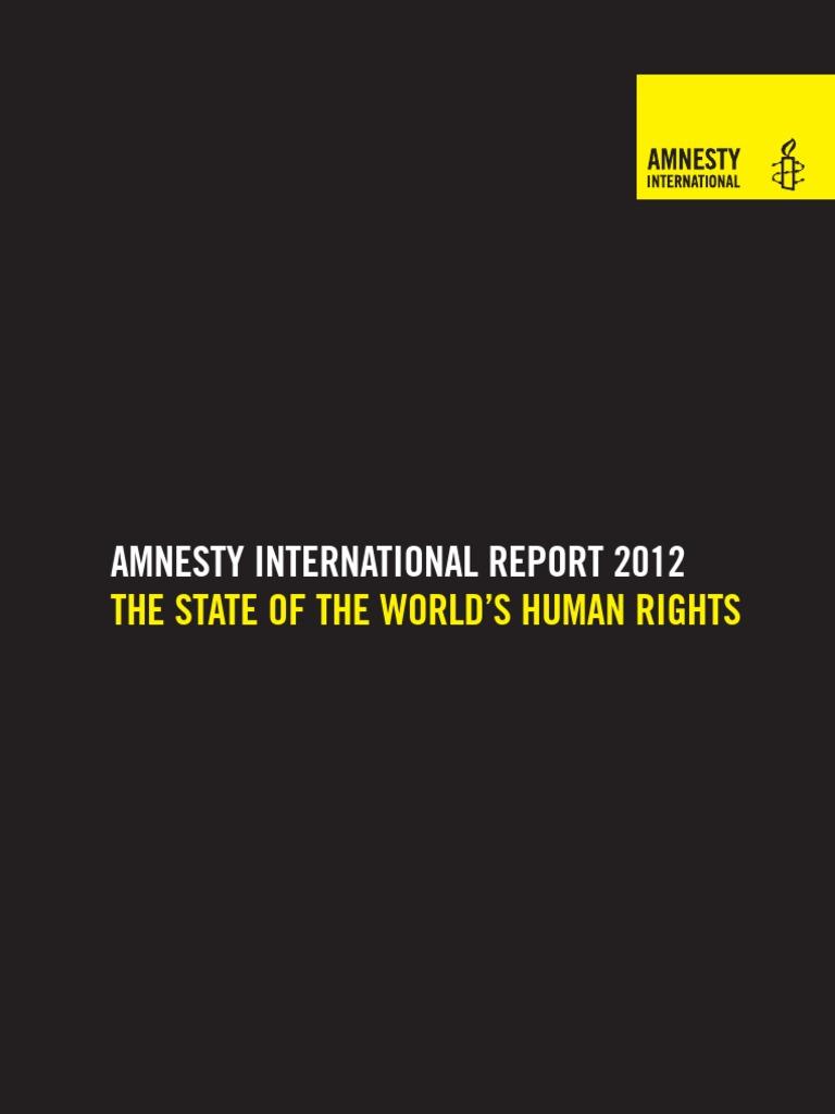 Amnesty International 2012 Report For Human Rights International  # Muebles Nuryan San Luis Potosi
