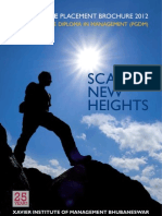 XIMB PGP Brochure_Batch 2010-12