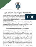 Programma Le Porte Del Sacro - Villa Piccolo